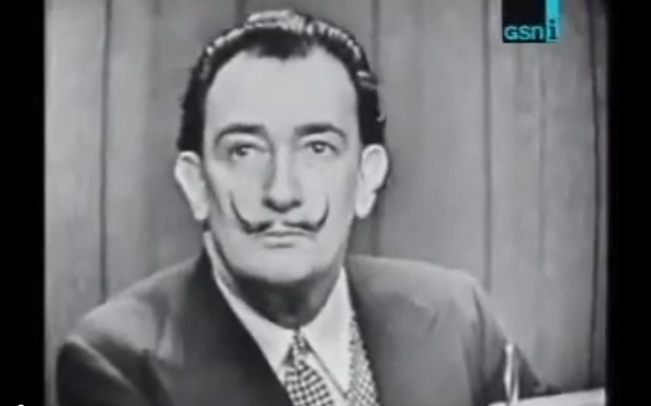 "Dali on ""What's My Line?"