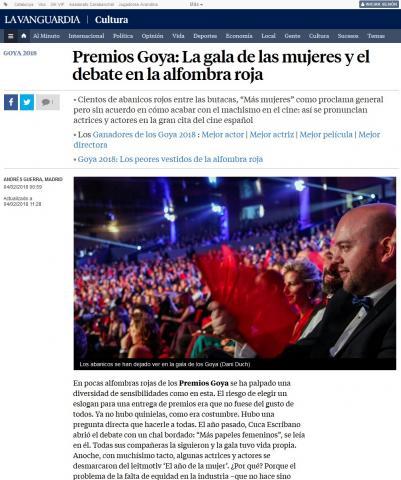 Premios Goya: La gala de las mujeres y el debate en la alfombra roja
