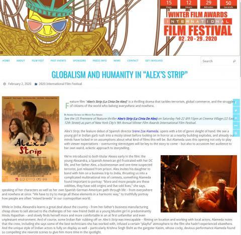 """Globalismo y humanidad en la """"La cinta de Álex"""""""