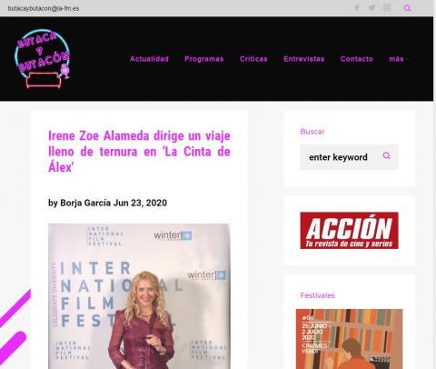 Irene Zoe Alameda dirige un viaje lleno de ternura en 'La Cinta de Álex'
