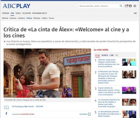 """Review of """"Alex's Strip"""": """"Welcome"""" to the movies and theaters"""