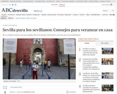 Sevilla para los sevillanos: Consejos para veranear en casa