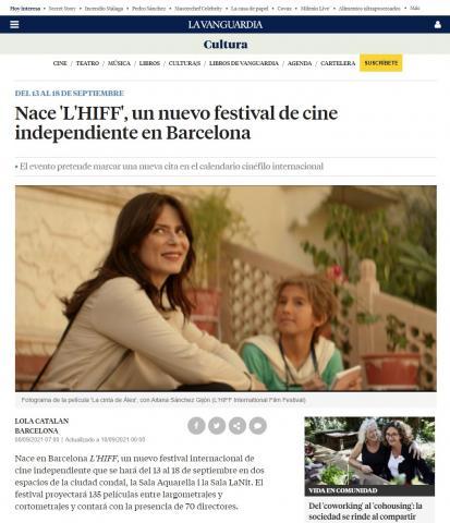 Nace 'L'HIFF', un nuevo festival de cine independiente en Barcelona