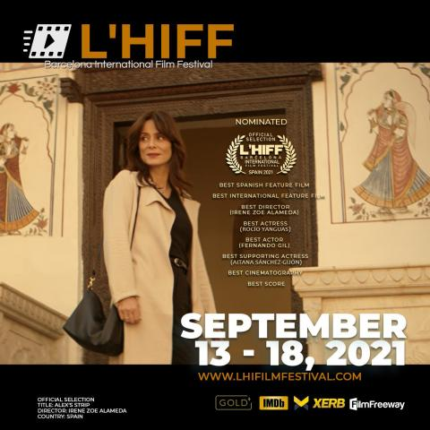 Screening of Alex's Strip at the opening ceremony of L'HIFF
