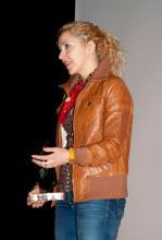 Irene Zoe Alameda agradece el premio