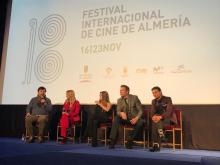 Premiere de LA CINTA DE ÁLEX en FICAL (22-11-19, Teatro Cervantes, Almería)
