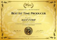 Best Producer, Festival Vegas Movie Awards