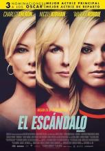 Cartel de la película El escándalo.