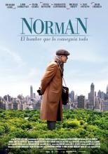 Spanish poster of the movie Norman, by Joseph Cedar