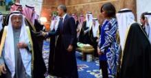 Michelle Obama fue ignorada por la corte del nuevo rey de Arabia Saudí