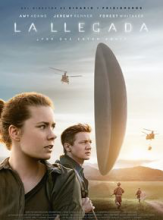 Poster of the movie The Arrival (2016), by Denis Villeneuve, for the Spanish market