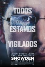Cartel de la película Snowden, de Oliver Stone