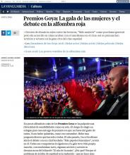 Goya Awards: The women's gala and the debate on the red carpet