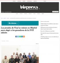 Fical jurors meet in Madrid to choose the winners of the XVII edition