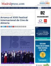 Arranca el XVIII Festival Internacional de Cine de Almería