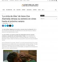 'La cinta de Álex' de Irene Zoe Alameda retrasa su estreno en cines hasta el próximo verano
