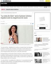 """""""La cinta de Álex"""" será el primer estreno español ante la reapertura de cines"""