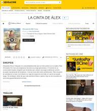 La cinta de Álex - SensaCine.com