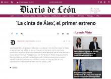 'La cinta de Álex', el primer estreno