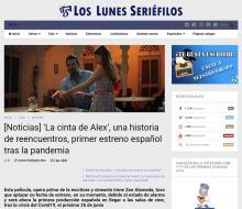 'La cinta de Álex', una historia de reencuentros, primer estreno español tras la pandemia