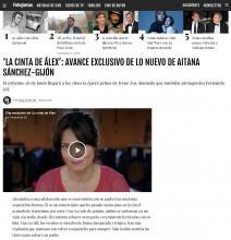 'La cinta de Álex': Avance exclusivo de lo nuevo de Aitana Sánchez-Gijón