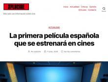 La primera película española que se estrenará en cines