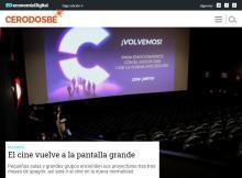 El cine vuelve a la pantalla grande
