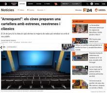 """""""Arrancamos!"""": Los cines preparan una cartelera con estrenos, reestrenos y clásicos"""