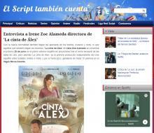 Entrevista a Irene Zoe Alameda directora de 'La cinta de Álex'