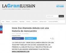 Irene Zoe Alameda debuta con una historia de reencuentro