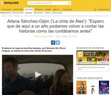 """Aitana Sánchez-Gijón ('Alex's Strip'): """"I hope that a year from now we can retell the stories as we told them before"""""""