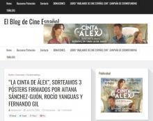'Alex's Strip', we raffled 3 posters signed by Aitana Sánchez-Gijón, Rocío Yanguas and Fernando Gil