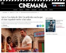 Así es 'La cinta de Álex', la película con la que el cine español vuelve a las salas