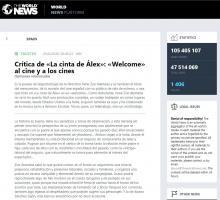 Crítica de «La cinta de Álex»: «Welcome» al cine y a los cines