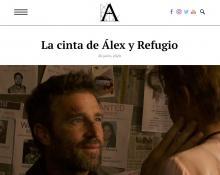 La cinta de Álex y Refugio