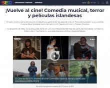 ¡Vuelve al cine! Comedia musical, terror y películas islandesas