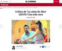 Crítica de 'La cinta de Álex' (2019): Una sola cara