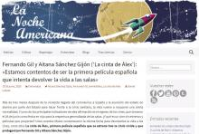 Fernando Gil y Aitana Sánchez Gijón ('La cinta de Álex'): «Estamos contentos de ser la primera película española que intenta dev