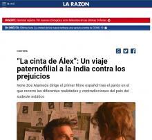 """""""La cinta de Álex"""": Un viaje paternofilial a la India contra los prejuicios"""
