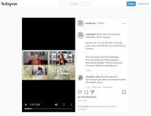 """Moobys.es en Instagram: """"Estreno de """"La cinta de Álex"""" el 26 de junio, aquí la entrevista con la directora y la actriz"""
