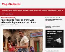 'La cinta de Álex' de Irene Zoe Alameda llega a nuestros cines
