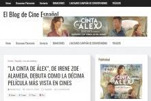 """""""La cinta de Álex"""", de Irene Zoe Alameda, debuta como la décima película más vista en cines"""