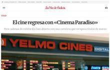 El cine regresa con «Cinema Paradiso»