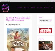 'Alex's Strip' will premiere on Filmin on November 27