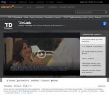 Aitana Sánchez-Gijón en La cinta de Álex