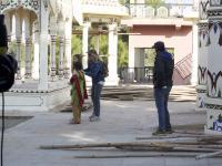 Behind the Scenes 'Alex's Strip'. Director and actors