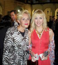 Irene Zoe Alameda con Antonia San Juan. Festival de Cine de Alicante 2011