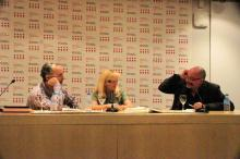 Los escritores y el editor hablan sobre Artista y criminal