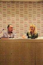 Luis Alberto de Cuenca fue el encargado de presentar el libro de Irene Zoe Alameda
