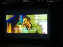 La proyección tuvo lugar el 29-11-19, en el Melina Mercouri Theatre (Nicosia, Chipre)